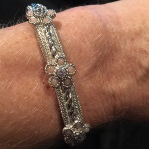 Judith Ripka bangle bracelet